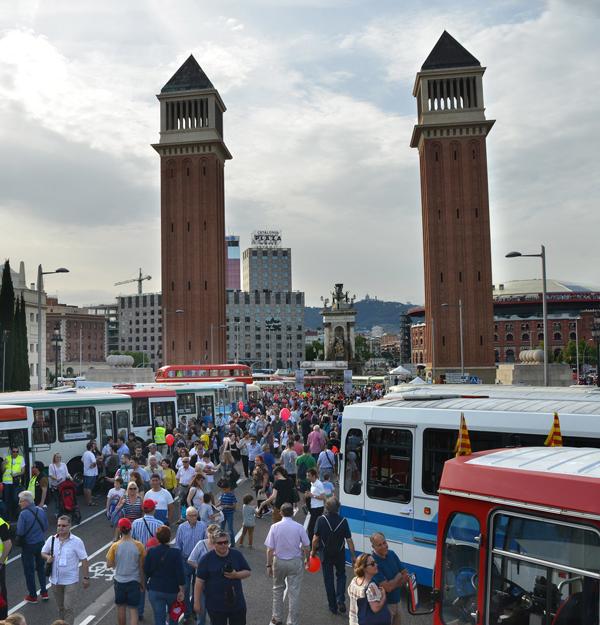 El Strada e-City se presentará en la exposición del Rally Internacional de Autobuses Clásicos de Barcelona
