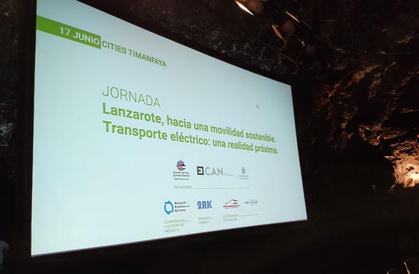 Indcar participa en las jornadas de movilidad sostenible de Lanzarote