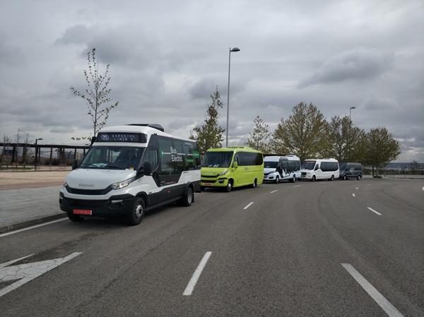 Indcar presenta el Strada e-City Low Entry al Minibus Euro Test