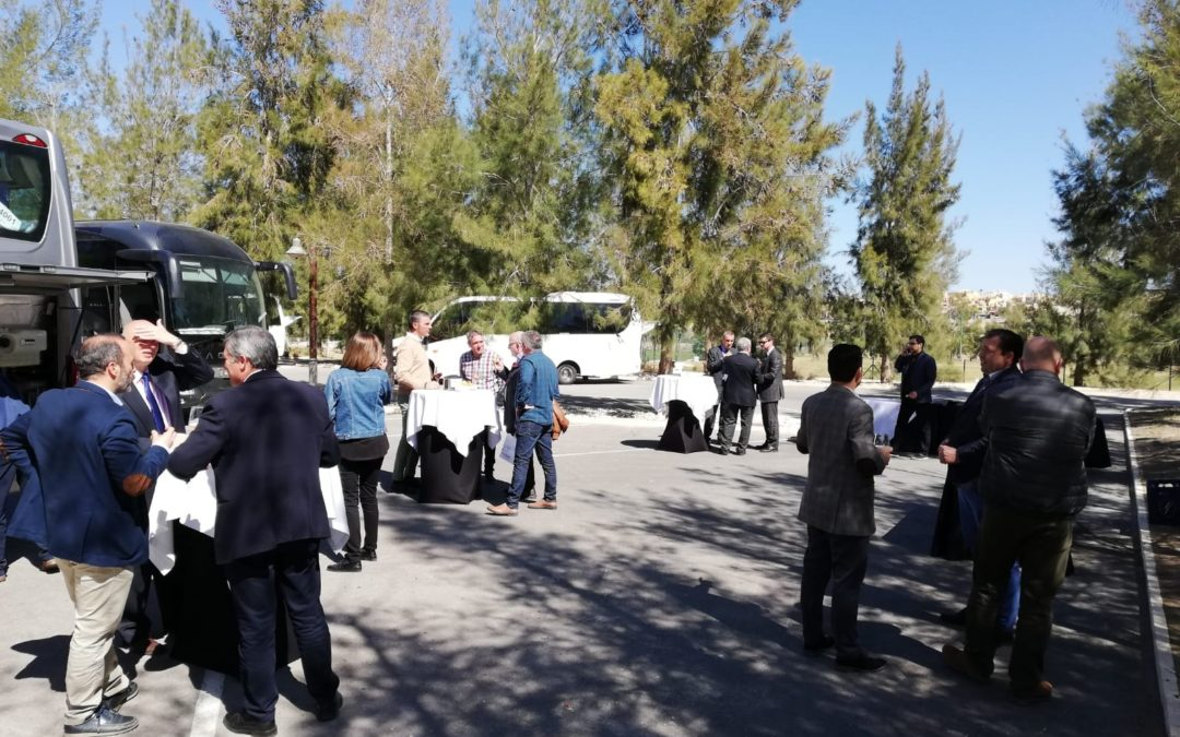 A Wing in the Iveco Conference organised by Talleres Garrido