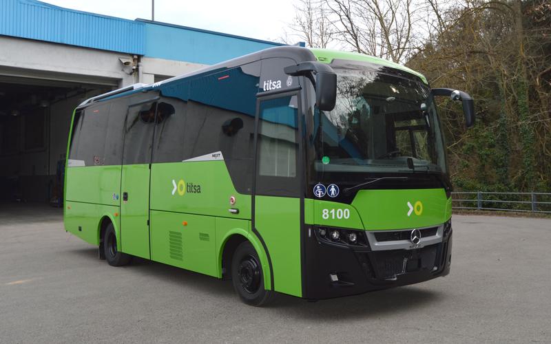 INDCAR entrega 5 minibuses para TITSA