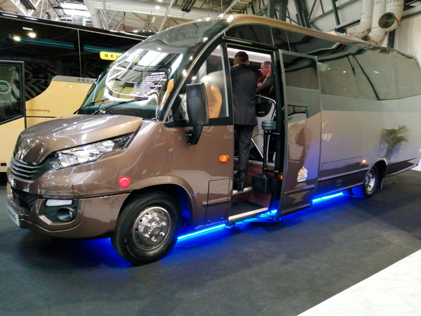 INDCAR PRESENTS A WING AT COACH & BUS IN BIRMINGHAM