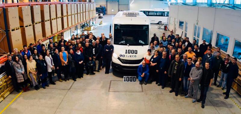 Mobi 1000 : Indcar atteint les mille unités de sa gamme Mobi