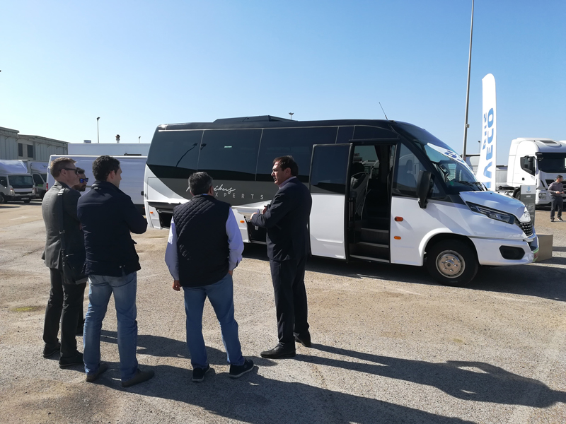 The Wing built on Daily MY2019 chassis was very well received during the Roadshow organized by Iveco.