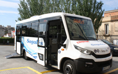 The city minibus, a transport solution increasingly used in the cities