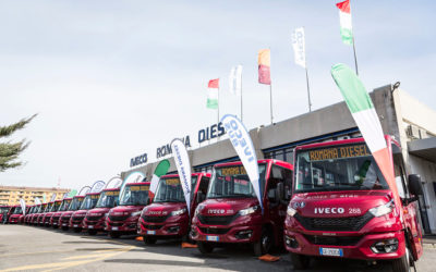 Roma presenta i nuovi minibus urbani Mobi City