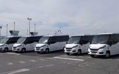 5 unità del minibus Wing a GNC sono già in circolazione in Francia.