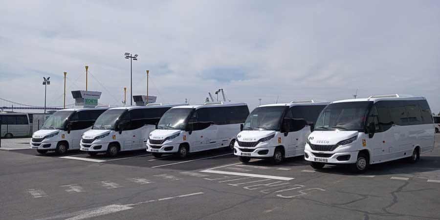 5 unités du minibus Wing au GNV circulent déjà en France.