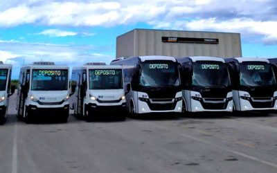INDCAR DELIVERES 7 NEW MINIBUSES FOR URBAN AND INTERURBAN USE IN PALERMO.