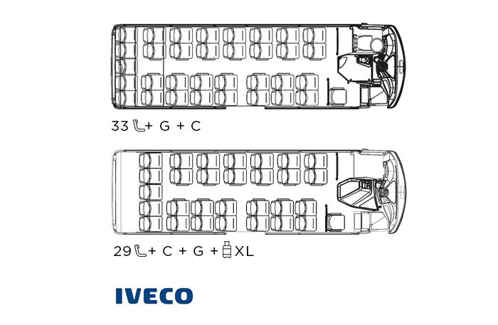 Indcar Next minibús turístico L8 IVECO distribución