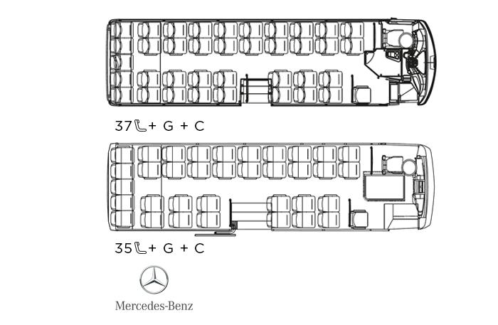 Indcar Next minibús turístico L9 Mercedes Benz distribución