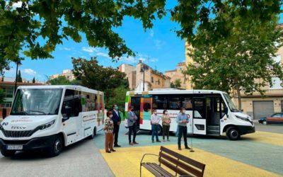El ayuntamiento de Ontinyent renueva su flota urbana con dos minibuses Mobi City de Indcar