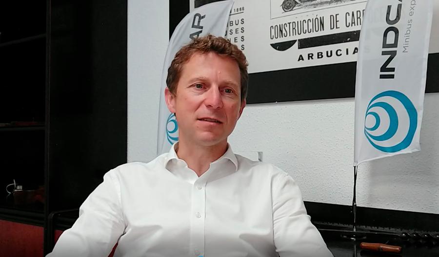 Entretien avec Gauthier Ricord, chef d'entreprise de la ligne de minibus d'Iveco